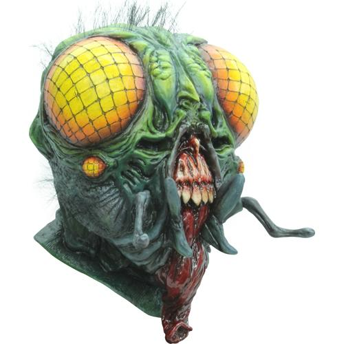 Horror The Fly Demon Adult Costume Mask