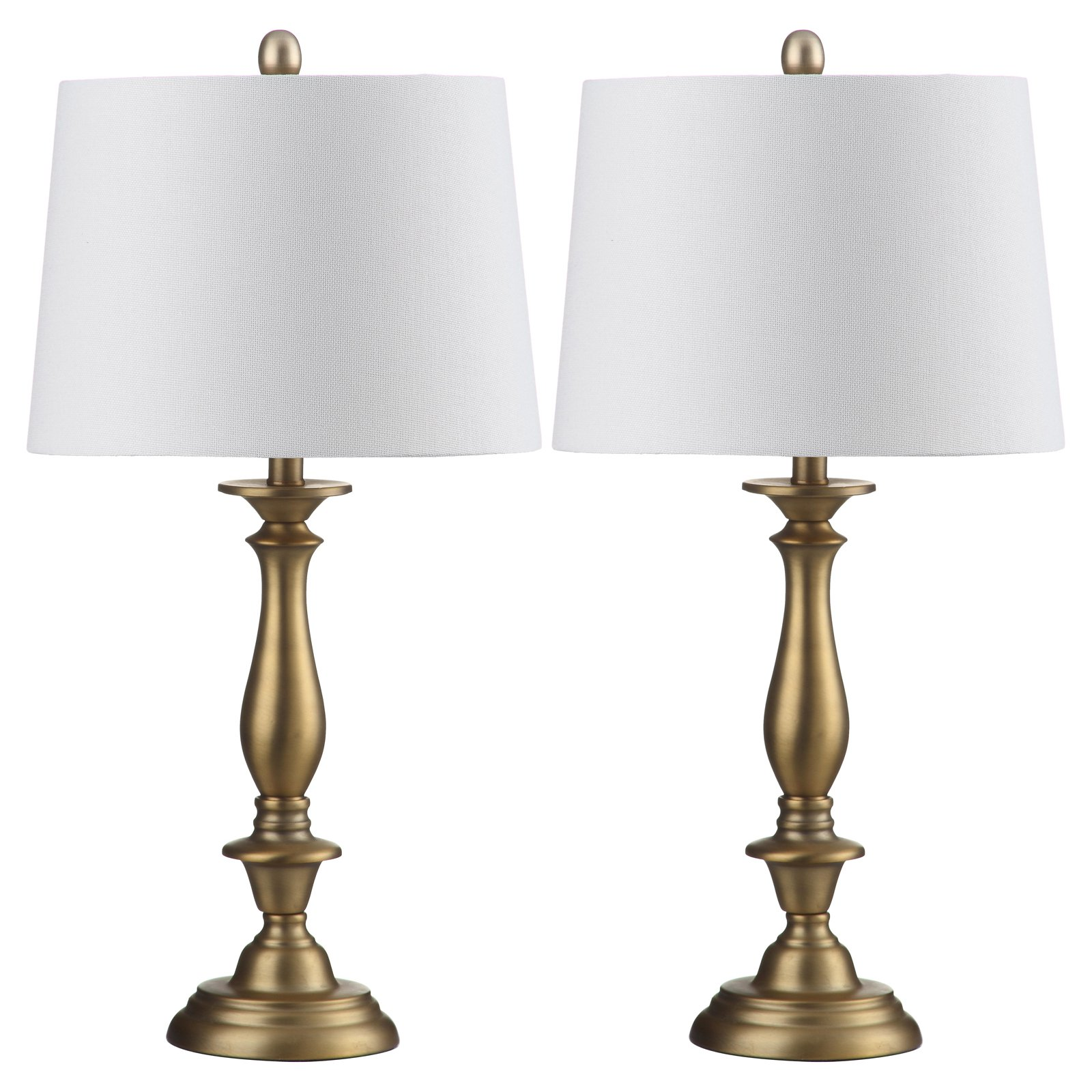 Safavieh Brighton Candlestick Table Lamp With Cfl Bulb Gold With