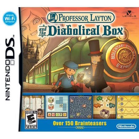Professor Layton and the Diabolical Box - Nintendo Ds