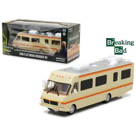 1986 Fleetwood Bounder Rv Breaking Bad  2008 13 Tv Series  1 43 Diecast Model Car By Greenlight