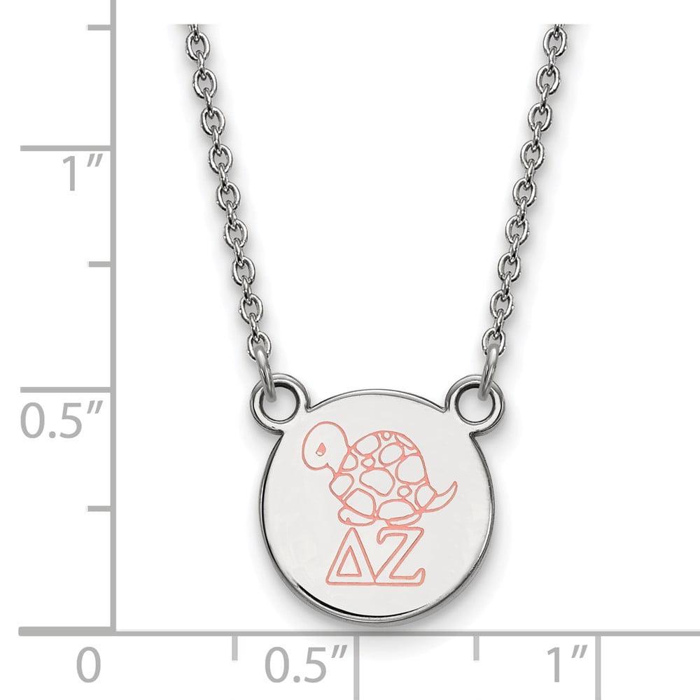 Roy Rose Jewelry Sterling Silver LogoArt Washington State Pendant in Heart