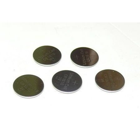5ps CR1616 DL1616 ECR1616 Button Cell Coin Battery for Watch - Cr1616 Button
