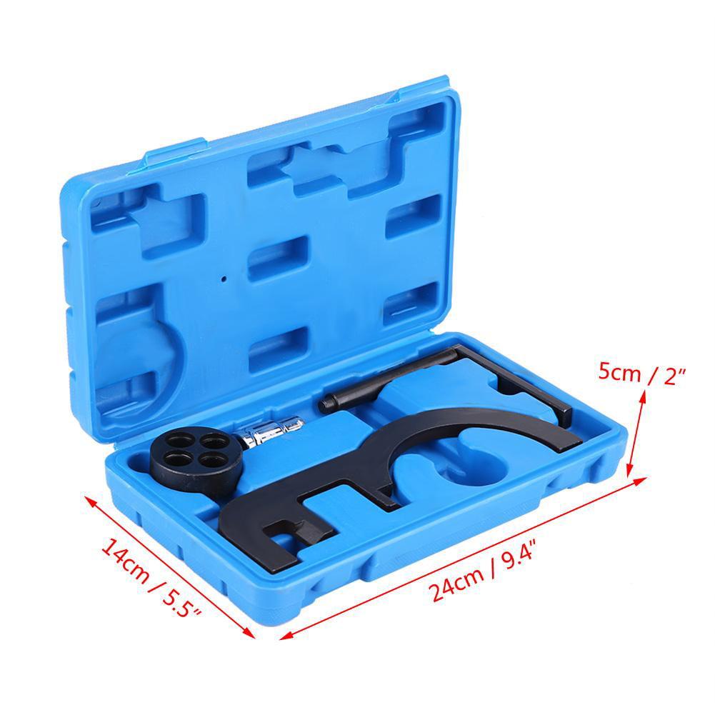 Zerone Timing Tool Kit 4pcs Diesel Engine Chain Twin Camshaft Timing Locking Tool for BMW N47 N47S