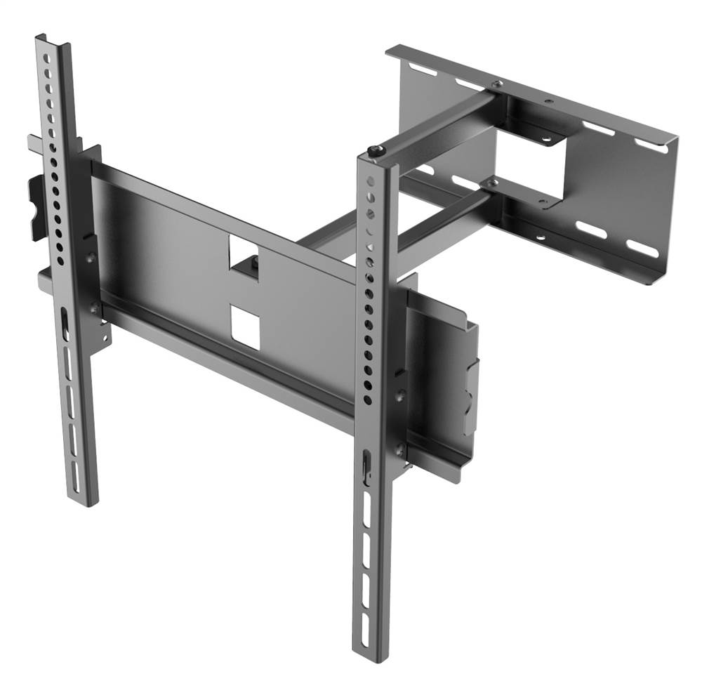 Flat Panel Wall Mount for TVs in Black by Yuka Clothing Inc