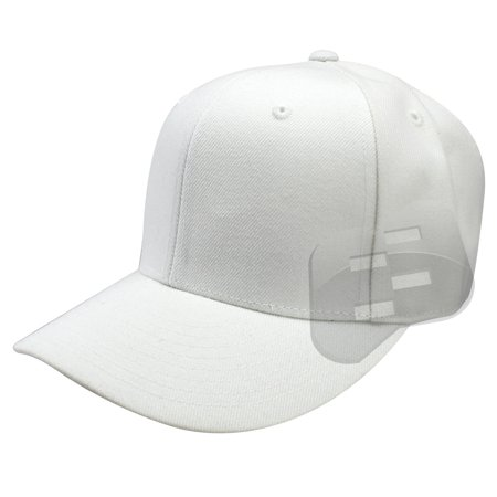 Enimay - Enimay Baseball Hats Caps Curved Bill Solid Color No Logo (MANY  COLORS SIZES AVAILABLE) White 7 5 8 - Walmart.com 54a26843735