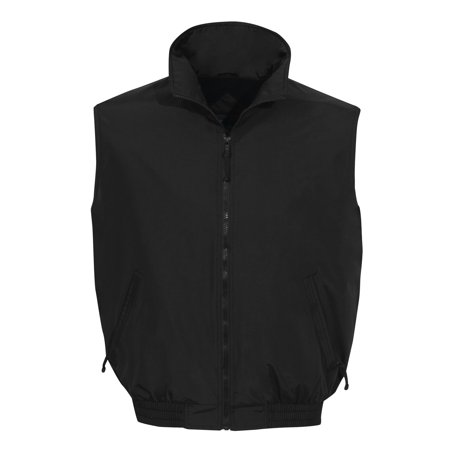 Tri-Mountain Ridge Rider 8400 Nylon Vest, 2X-Large, Black/Black