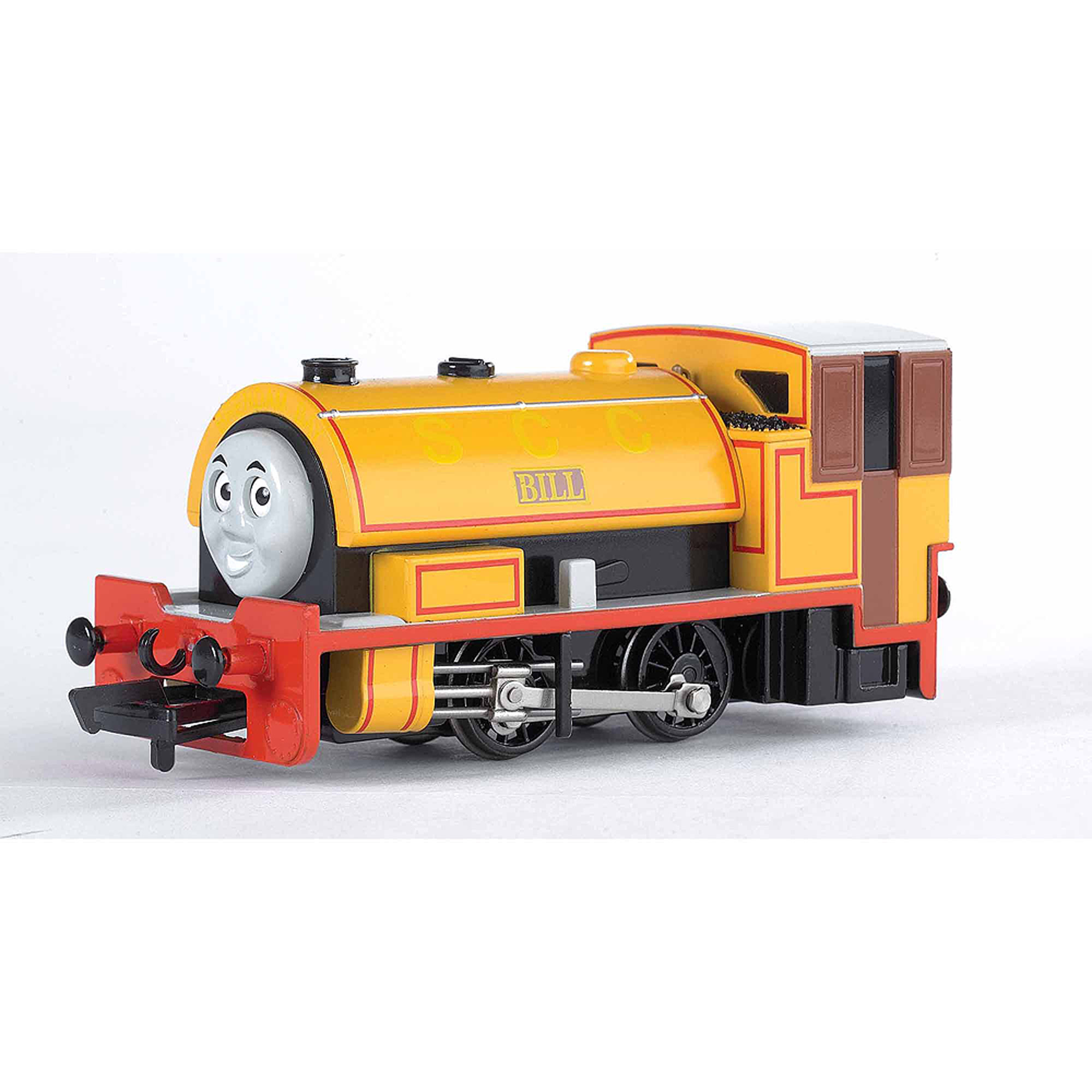 Bachmann Trains Thomas and Friends Bill Locomotive with Moving Eyes, HO Scale Train