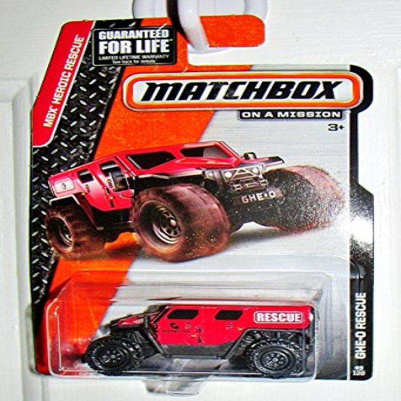 Matchbox MBX Heroic Rescue GHE-O Rescue 49 120 by