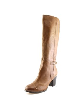 Product Image Giani Bernini Ellee Women Round Toe Leather Brown Knee High  Boot 074bfc092