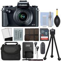 Canon PowerShot G1 X Mark III 24.2MP Digital Camera 3x Optical Zoom + 16GB Kit