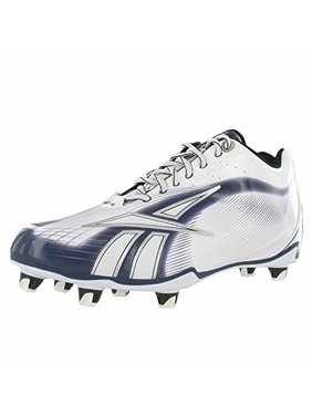 474c290f28cf Product Image REEBOK NFL BURNER SPD LT LO M4 MENS FOOTBALL CLEATS WHITE    NAVY 12.5