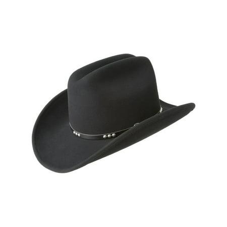 Bailey Western - Bailey Cowboy Hat Mens Silver Studs U-Rollit LiteFelt  Three D W05LFP - Walmart.com 23575094475