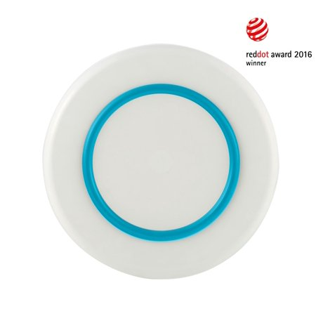 SORONA PM952 White Large Plate - Vivid Blue Nonslip Base - Pack of 2 - image 1 of 1