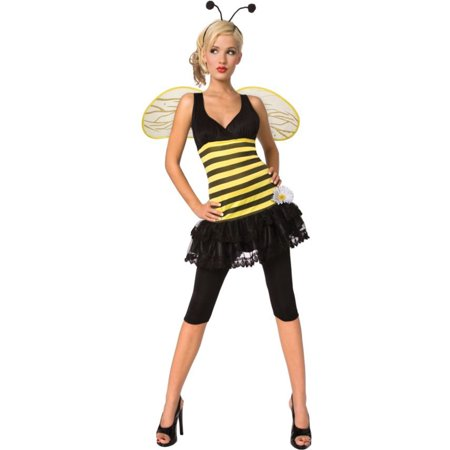 Morris Costumes Adult Womens Animals & Insects Honey Bee Costume L, Style LF5090LG