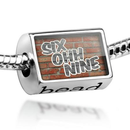 Bead 609 Atlantic City, NJ brick Charm Fits All European Bracelets ()