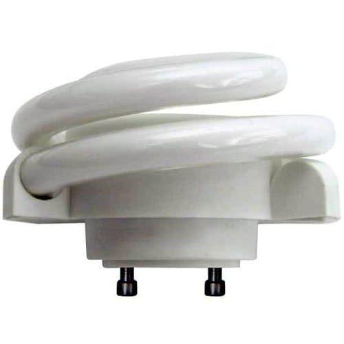 "Single Spiral 13 Watt 3.2"" Tall 2700K CFL Spiral Bulb with 270? Beam Spread and GU24 Base"