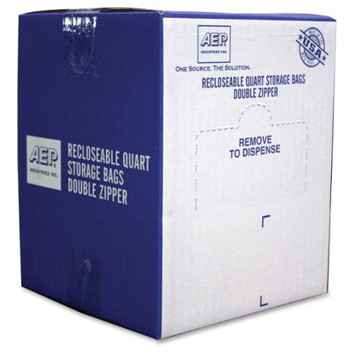 Webster Zipper Storage Bags - 1.75 Mil [44 Micron] Thickness - Clear - Plastic - 500/carton - Storage (zip1qs500)