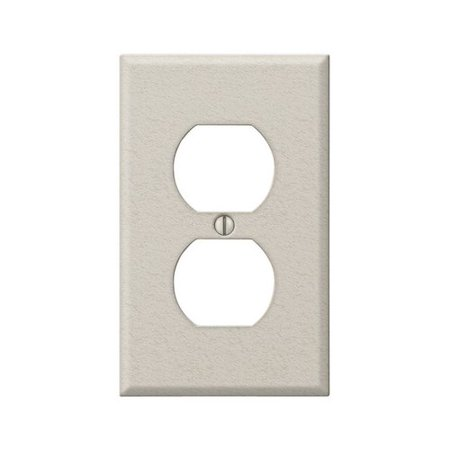 Amerelle Contractor 1-Gang Duplex Outlet Wall Plate