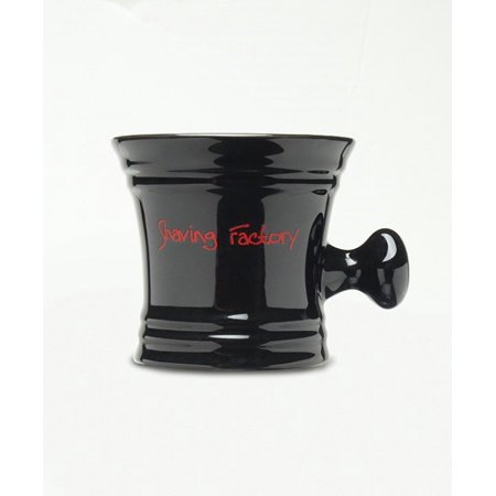 Shaving Factory Shaving Mug, Black