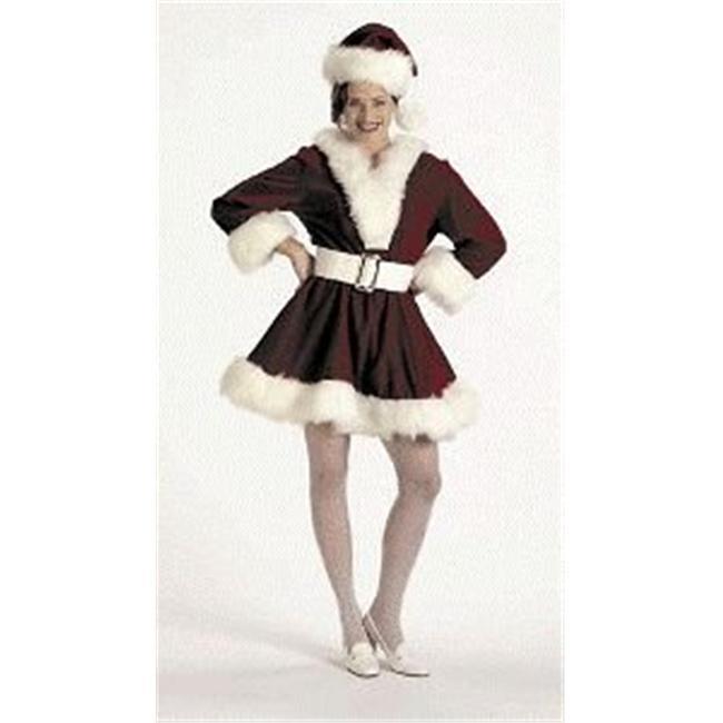 Halco 7054-4 Velvet Perky Pixie Christmas Costume - Small