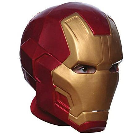 Rubie's Costume Avengers 2 Age of Ultron Child's Mark 43 Iron Man 2-Piece Mask - Mark Foster Halloween