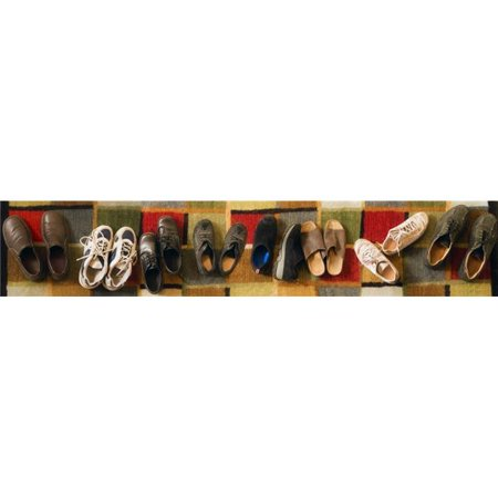 Shoes in a Row Poster Print by Steve Nagy, 44 x 8 - Large - image 1 of 1