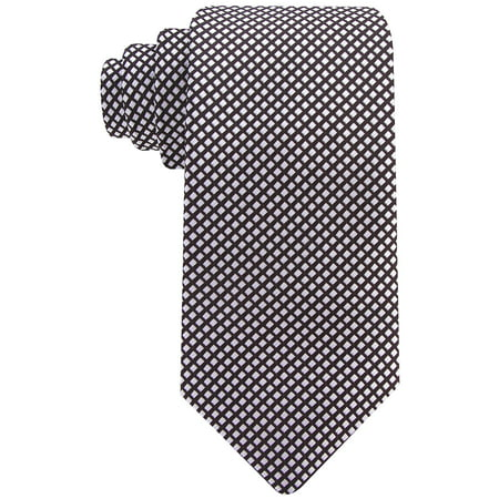 Mens Diamond Pattern Necktie by Scott Allan - Mens Tie