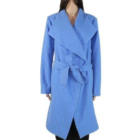 Womens Wrap Wool Coat L / Wide Lapel Tie-Waist XL Wool Belt Tie Coat Jacket