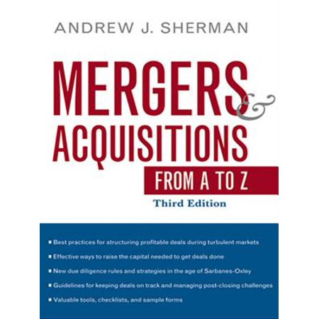 Mergers and Acquisitions from A to Z - eBook
