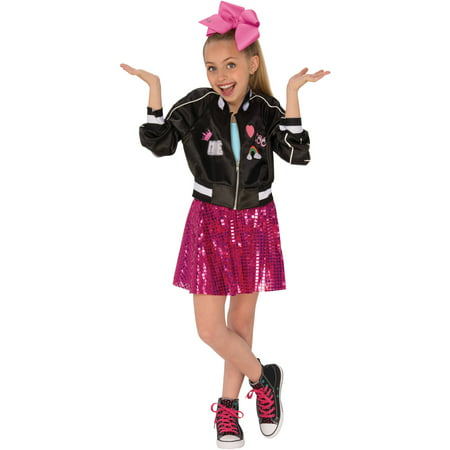Rubies Costume Co. Jojo Siwa Bomber Jacket and Skirt Child Costume (Bomber Jacket Costume)
