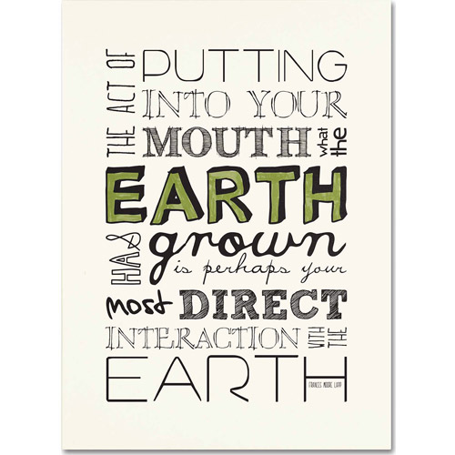 "Trademark Fine Art ""Interact with Earth"" Canvas Art by Megan Romo"