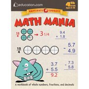 Dover Publications Math Mania