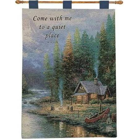 Manual Woodworkers & Weavers HWEPD2 26 x 36 po. Tapisserie de fin de journ-e parfaite II avec tampons - image 1 de 1