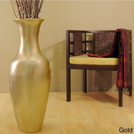 Lacquer 36 Inch Tall Vase With Branches Gold Walmart