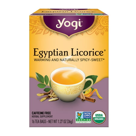 Yogi Tea, Egyptian Licorice Tea, Tea Bags, 16 Ct, 1 27 OZ