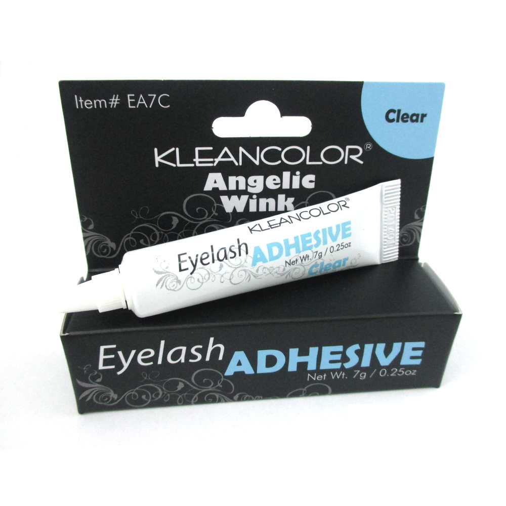 Adhesive Eyelashes Glue Clear False Fake Lashes Lash Extensions Strip 0.25 oz !!