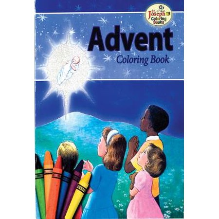 Coloring Book about Advent - Advent Wreath Coloring Page
