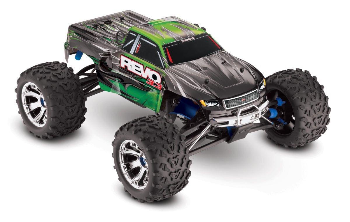 Traxxas 53097T3 Revo 3.3 4WD RTR w TQi & Module 3CH, Green by TRAXXAS