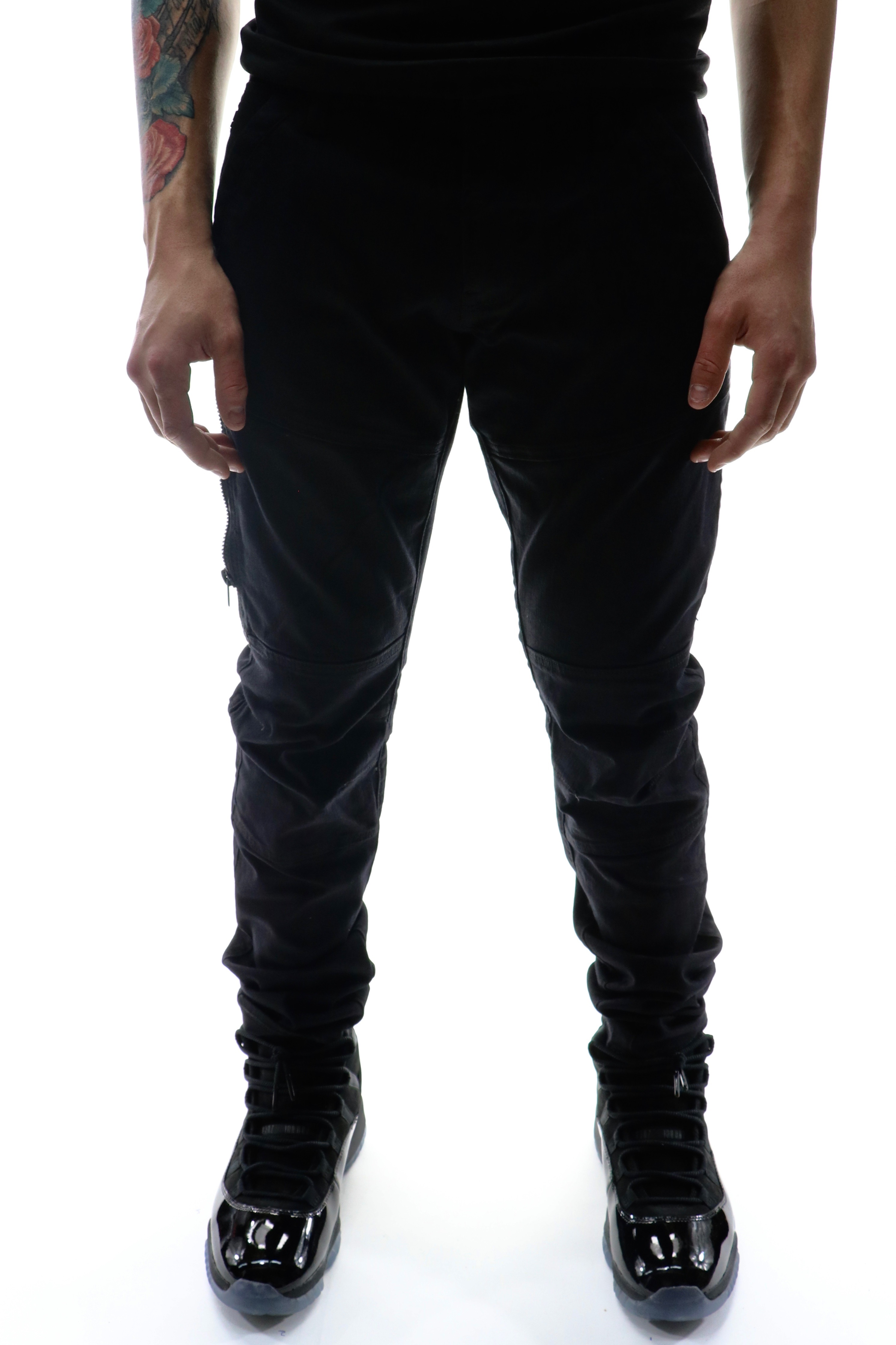 G-Star Rackam Dc Zip Skinny Denim