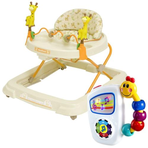 Baby Trend Activity Walker Kaku with Take Along Tunes Musical Toy