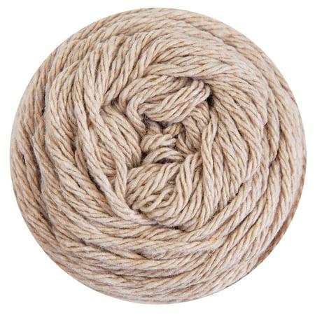 Mary Maxim Dishcloth Cotton Yarn - Oatmeal