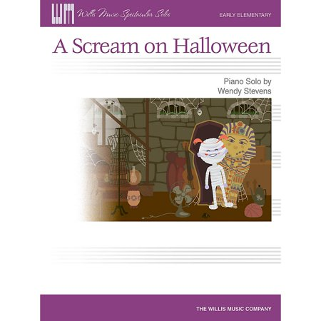 A Scream on Halloween [Sheet music] [Jan 01, 2013] Wendy Stevens (Halloween Music Techno)
