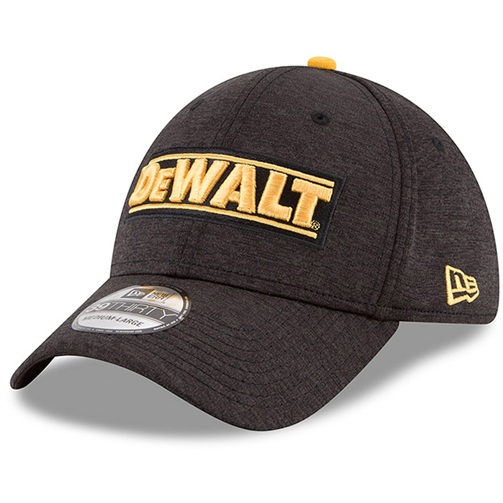 Erik Jones New Era DEWALT Driver 39THIRTY Flex Hat - Black