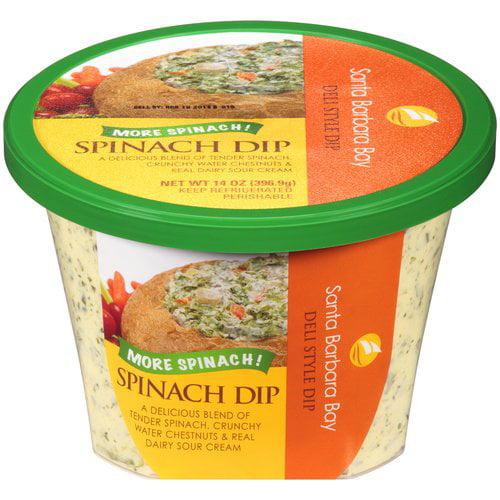 Santa Barbara Bay Spinach Dip, 14 oz