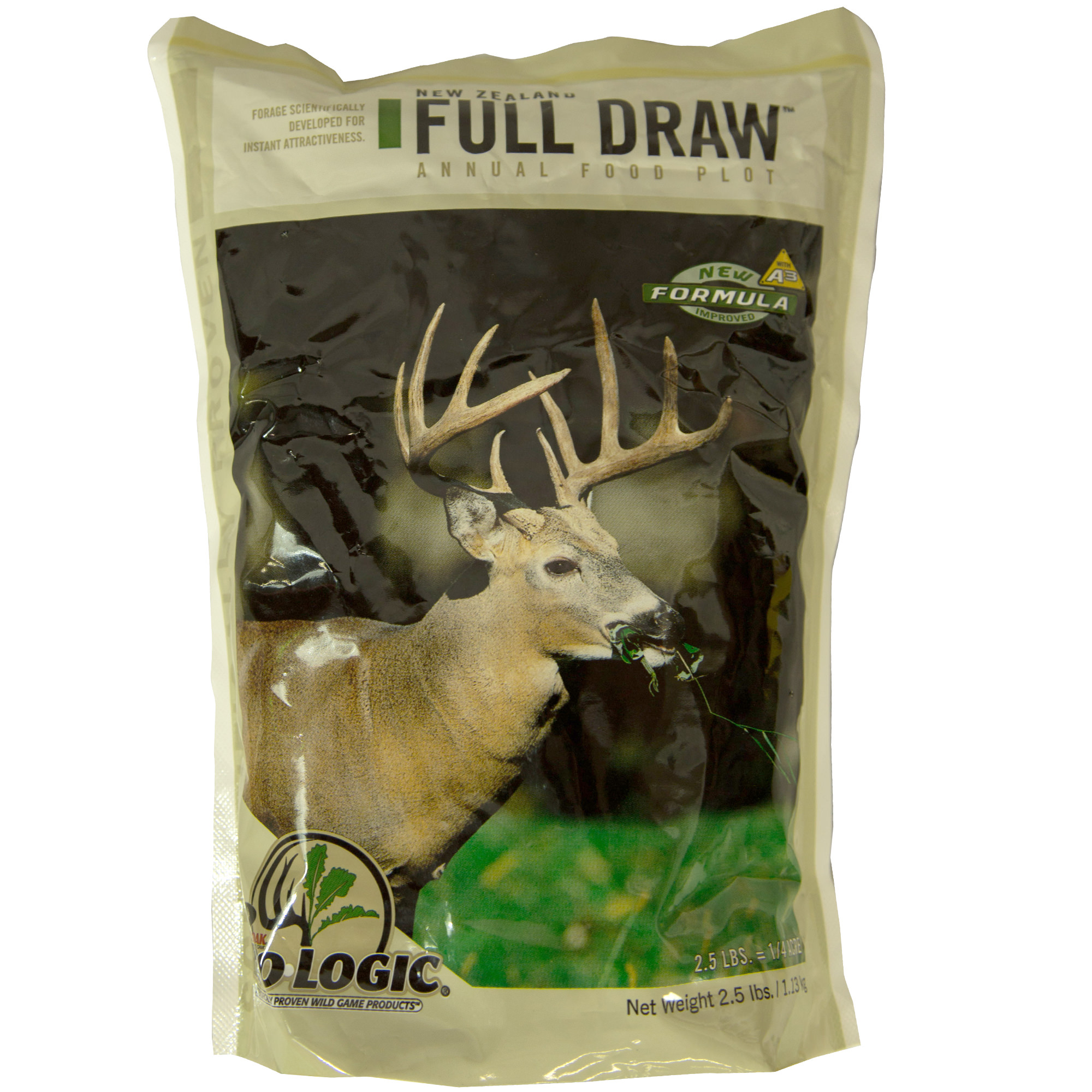 Mossy Oak BioLogic Full Draw All Season Food Plot Seed for Deer