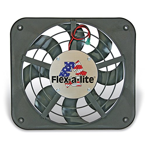 Flexalite 111 Lo-Profile S-Blade Electric Puller Fan