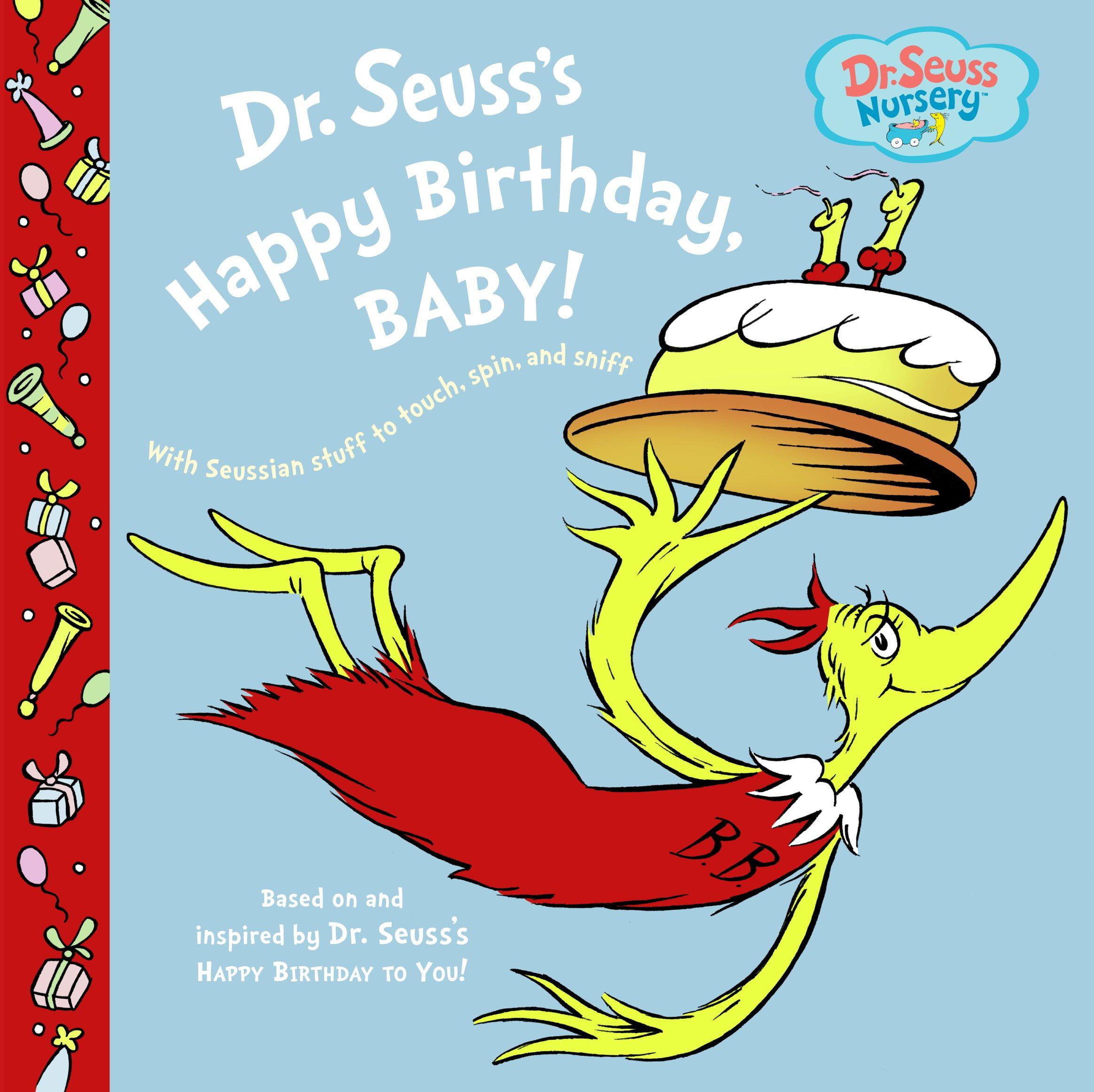 Dr. Seuss's Happy Birthday, Baby! (Board Book)