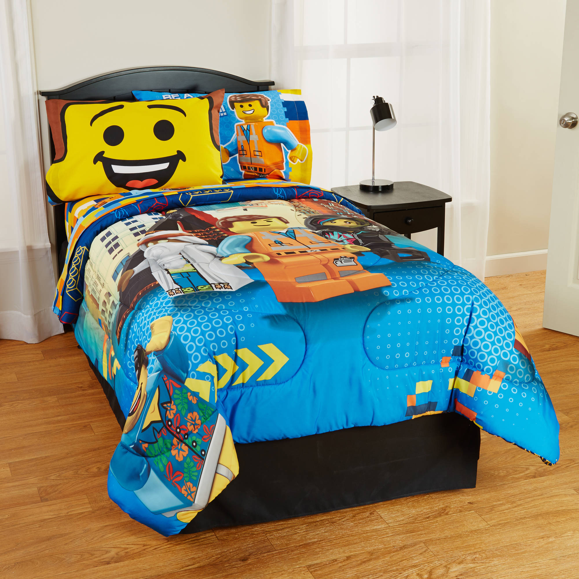 Lego The Movie Microfiber Reversible Twin Full Comforter by Franco Manufacturing