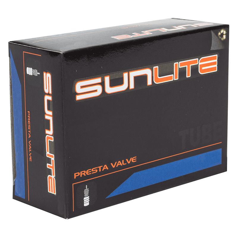 Sunlite Bicycle Tube 700c x 35-40mm Presta 48mm Valve Track Fixed Road