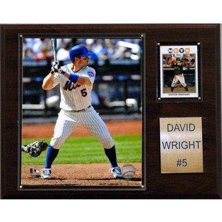 David Wright Memorabilia - C&I Collectables MLB 12x15 David Wright New York Mets Player Plaque